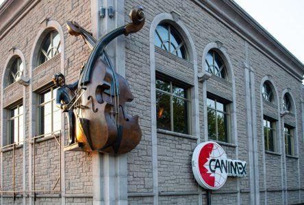 Deux octobasses géantes de bronze pour Canimex (photos)