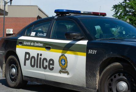 Les policiers réalisent une perquisition… puis une arrestation