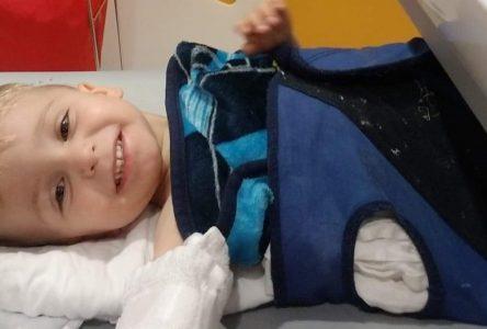 Kyle, 2 ans, mène déjà le plus gros combat de sa courte vie