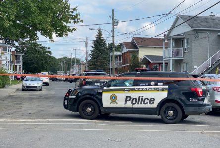 Opération policière à Drummondville (mise à jour)