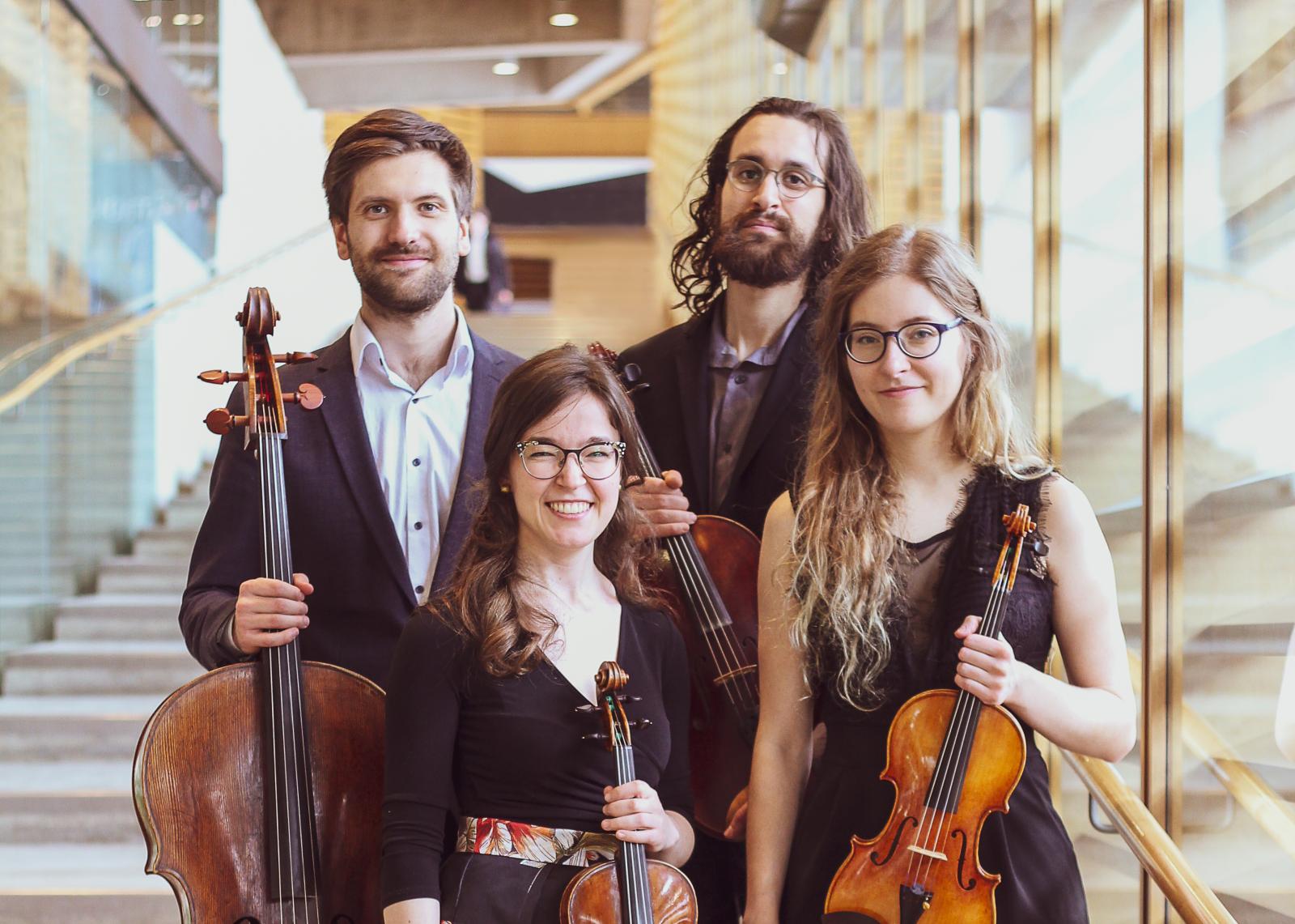 Quatuor Andara sort son premier album