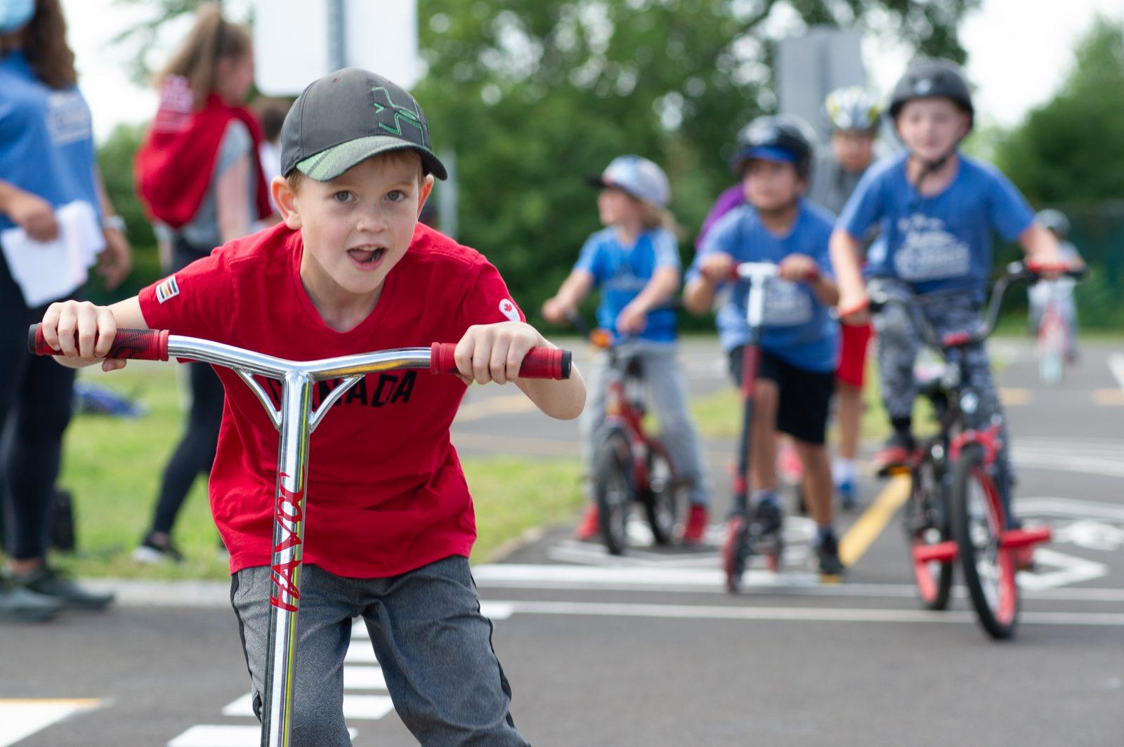 Un parcours éducatif de vélo unique au Québec (photos et vidéo)