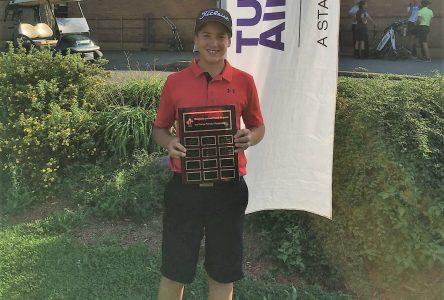 Le golf québécois couronne ses jeunes champions