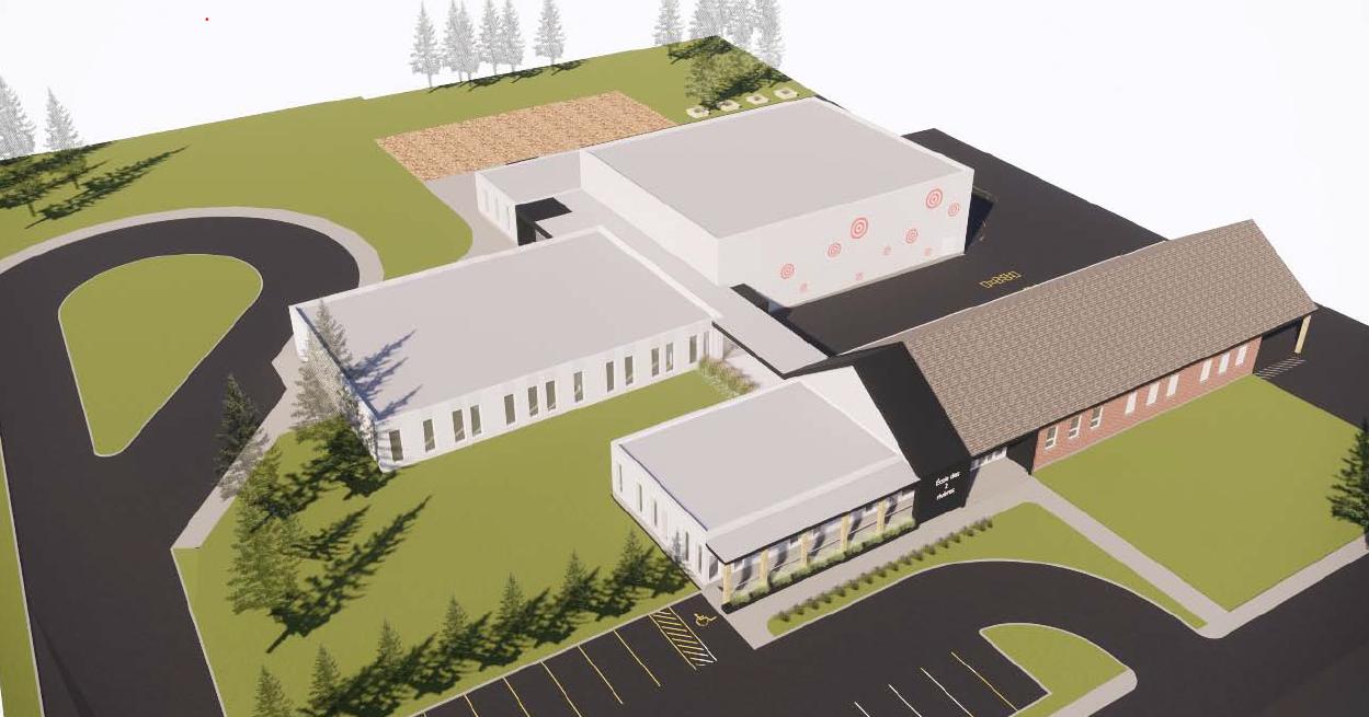 L'école des 2 Rivières sera finalement démolie puis reconstruite