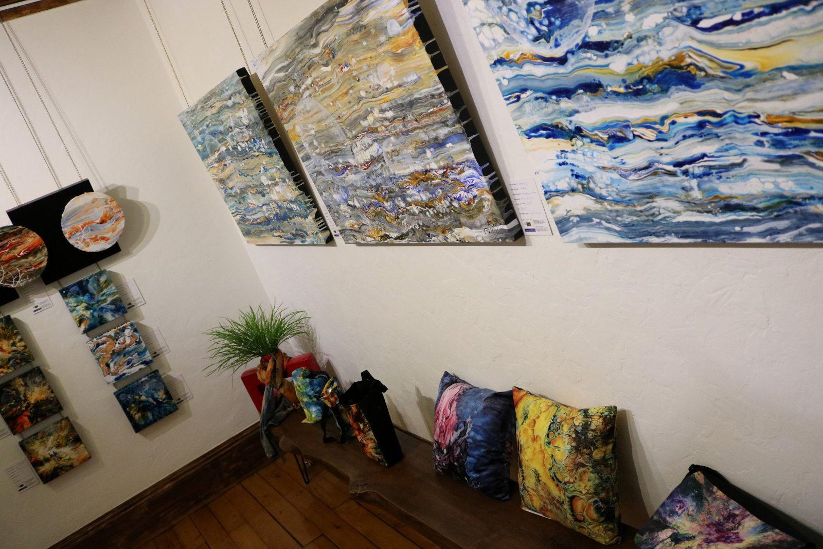 La Galerie mp tresart présente l'exposition Dans l'univers de ReBel