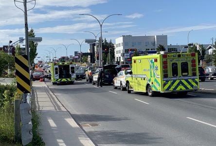 Une piétonne happée sur le boulevard Saint-Joseph (mise à jour)