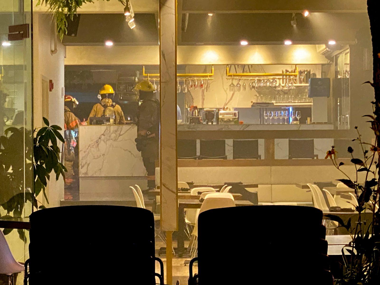 Début d'incendie au restaurant Nambu (mise à jour)