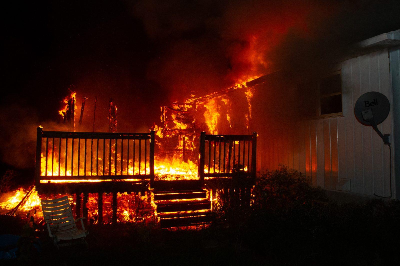 Trois incendies suspects dans la région (photos et vidéo)
