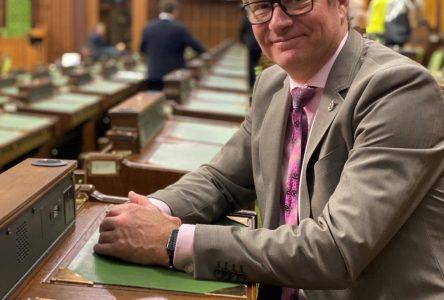 Réélu au Comité permanent du patrimoine canadien, Martin Champoux dépose deux motions