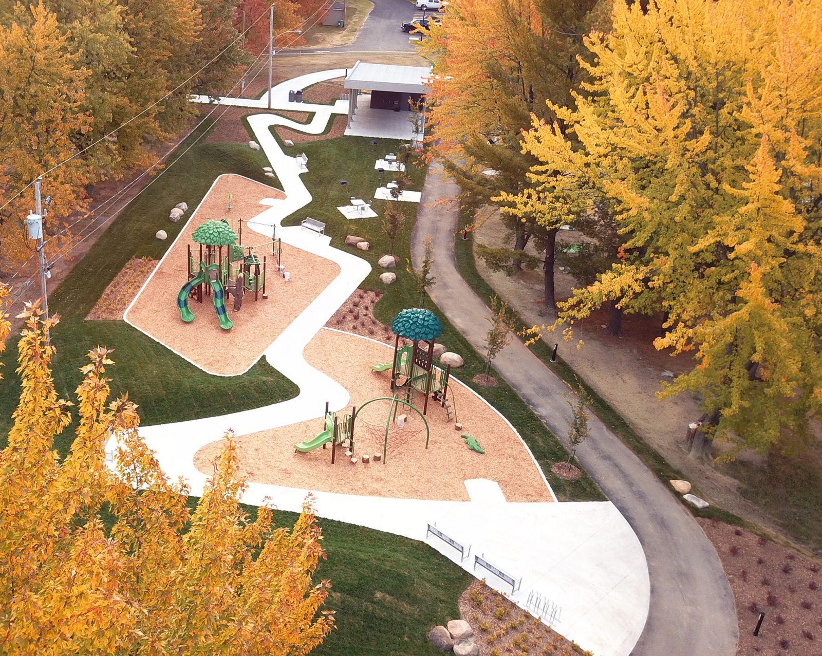 Le parc Kounak prend forme