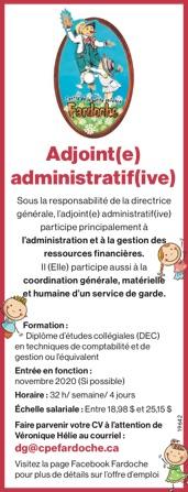 Logo de Adjoint(e) administratif(ive)