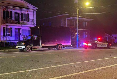 Un chauffeur de camion renverse une dame à Drummondville