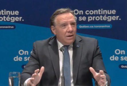 Zone rouge: Québec prolonge les mesures restrictives jusqu'au 23 novembre