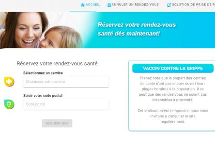 Dépistage : la prise de rendez-vous en ligne maintenant disponible