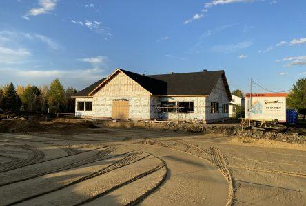 2020 marquée par la construction de la Maison Francine-Leroux à Saint-Lucien