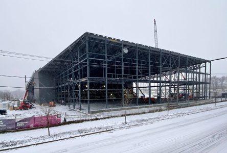 La construction va bon train à Drummondville, malgré la pandémie