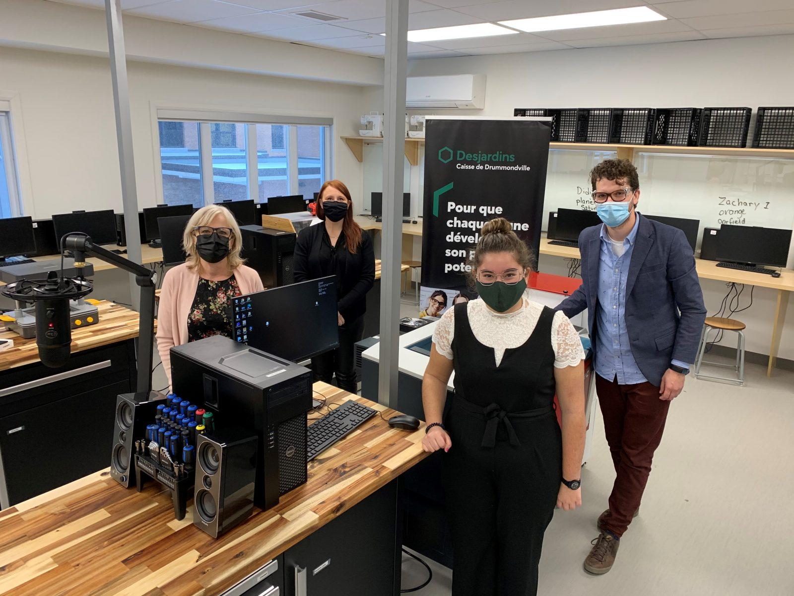 Le Fab Lab à l'école Marie-Rivier est officiellement inauguré