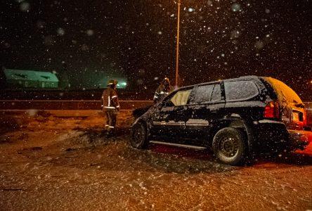 La première neige provoque des sorties de route