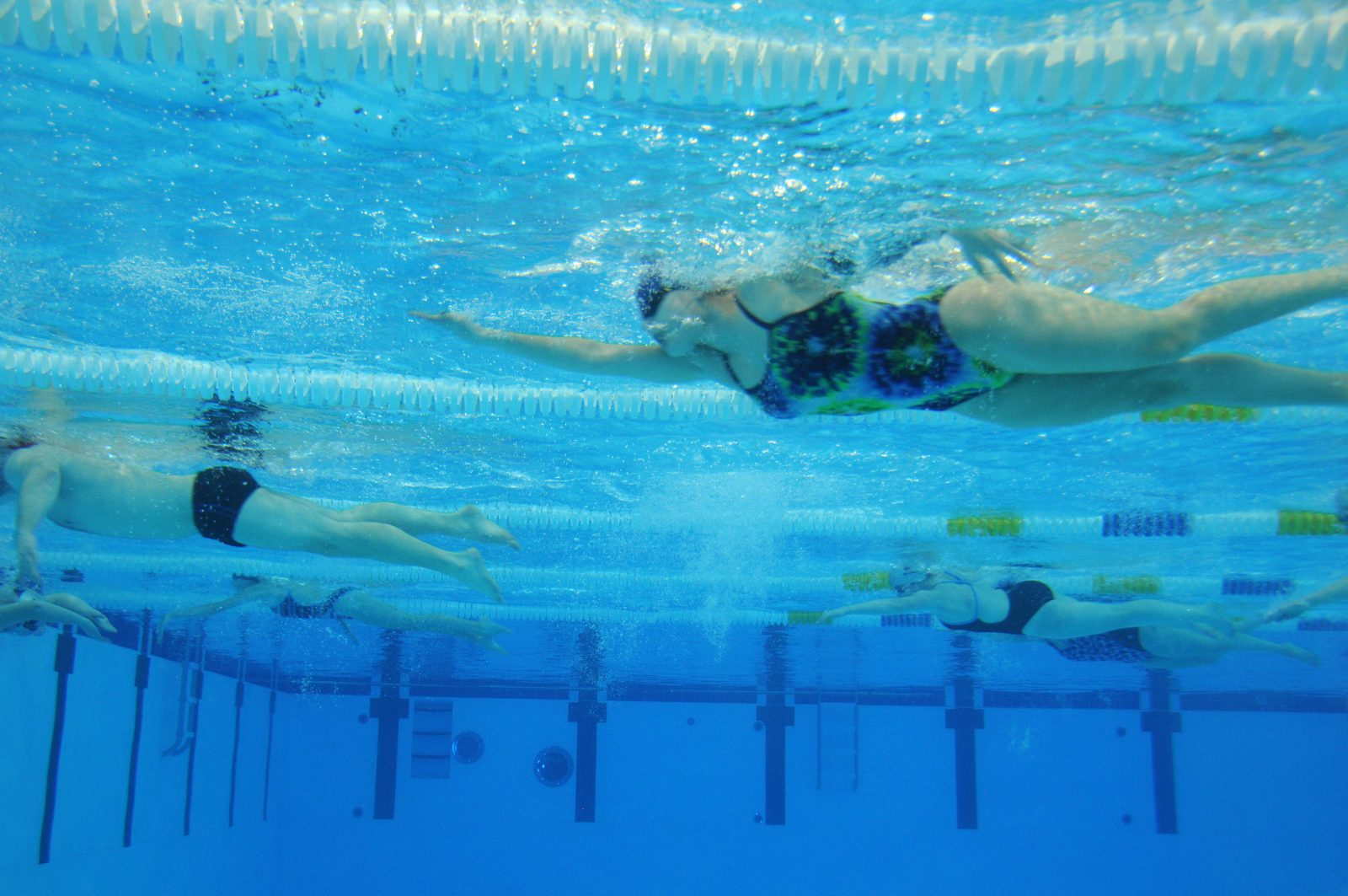 La natation, pour atteindre ses objectifs