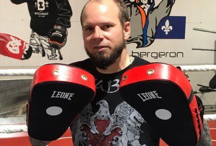 Yanick Bergeron veut faire briller le kickboxing