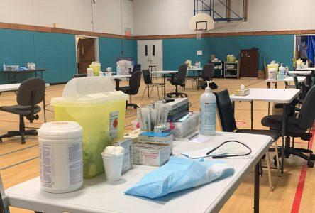 C'est parti pour la vaccination contre la COVID-19 à Drummondville