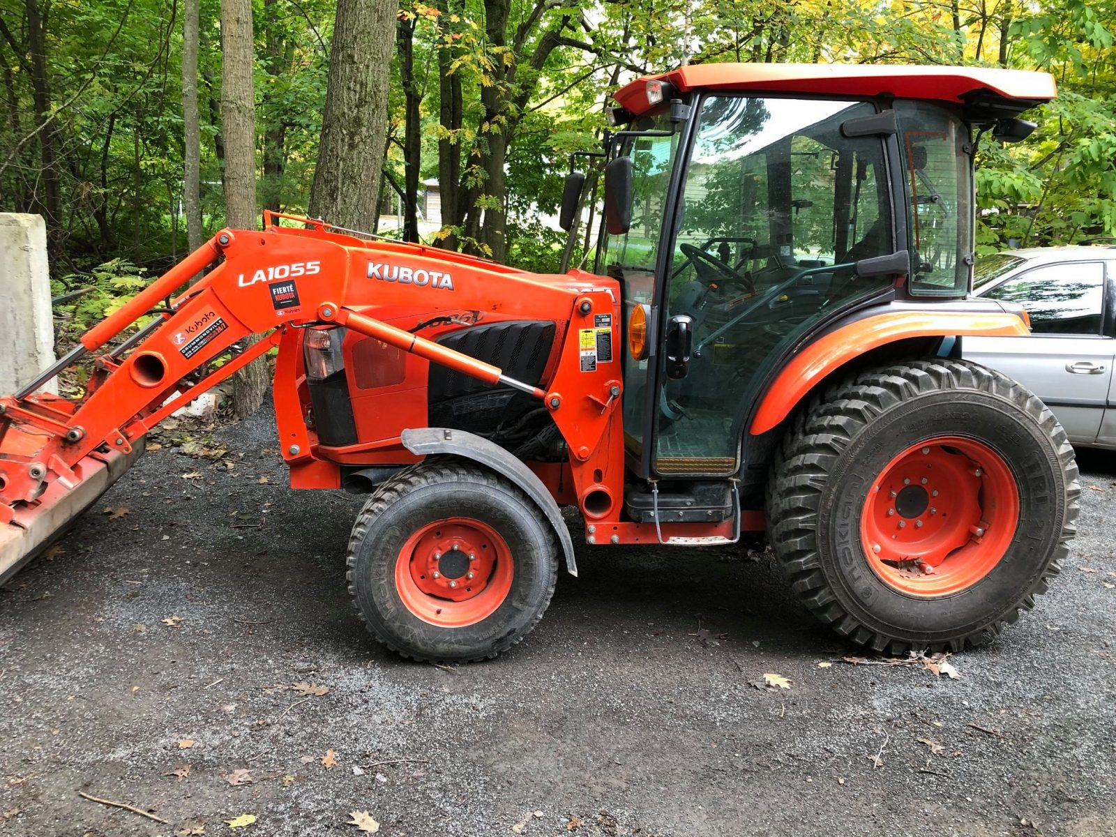Un tracteur du Centre Normand-Léveillé volé pour la deuxième fois