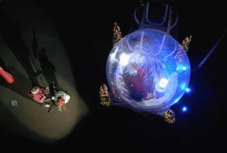 Le Collège Saint-Bernard y va d'un émotif «sofa dans la bulle»