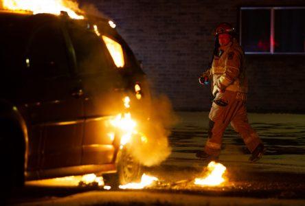Incendie criminel sur la rue Bousquet