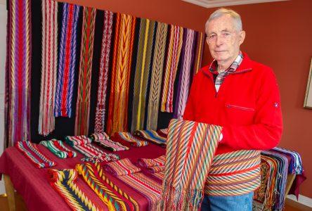 Drummondville a son artisan de la ceinture fléchée