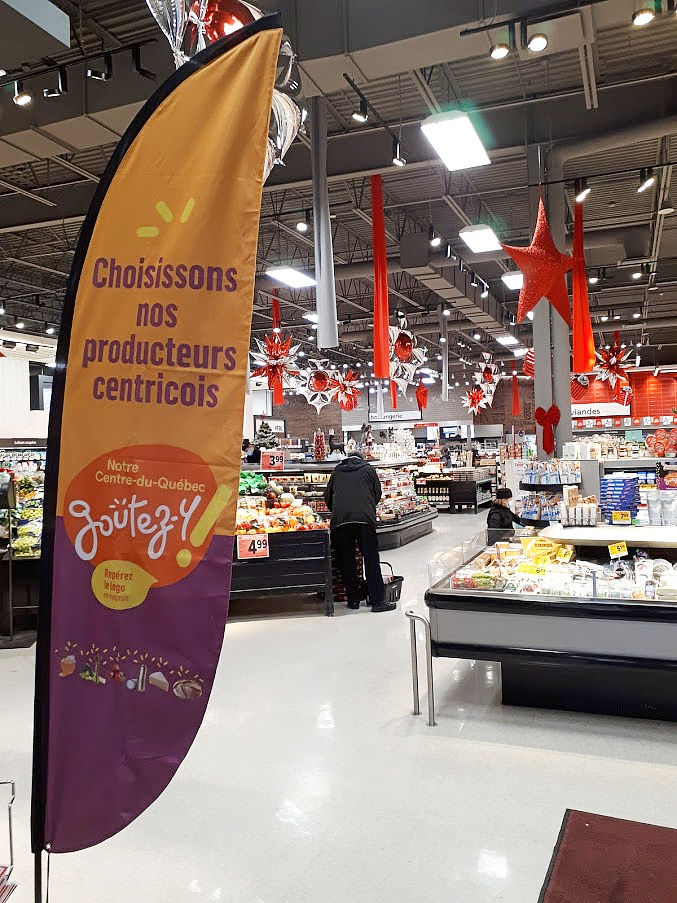 Centre-du-Québec: une campagne pour promouvoir les aliments d'ici