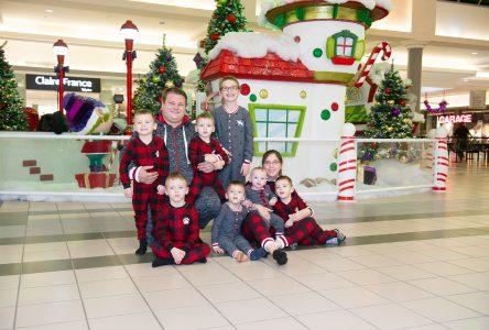 Noël avec sept enfants