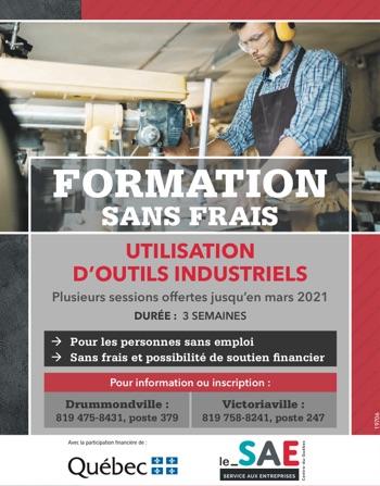 Logo de Formation – Utilisation d'outils industriels