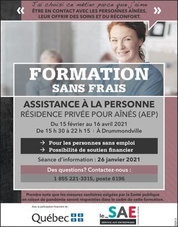 Logo de Formation – Assistance à la personne