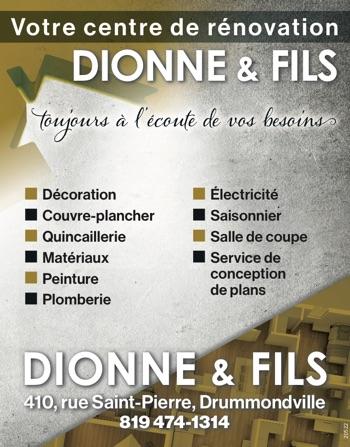 Logo de Dionne & Fils