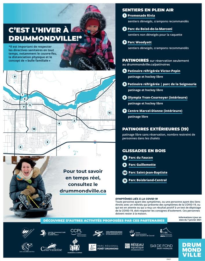 Logo de C'est l'hiver à Drummondville