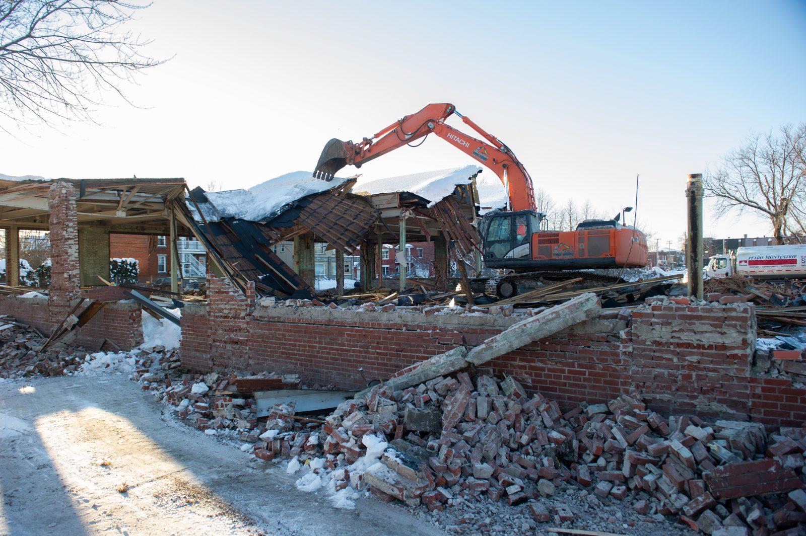 Le dernier fort du complexe de la Fortissimo est détruit (photos)