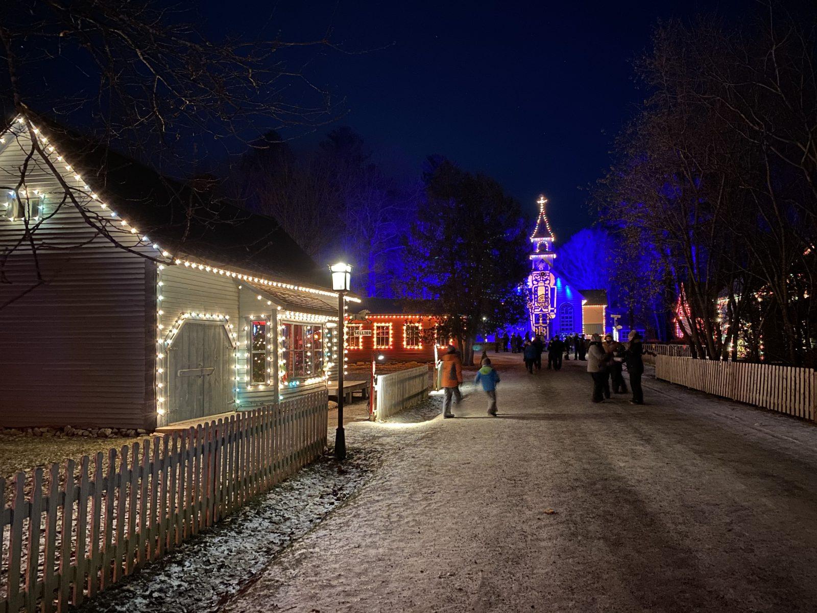 Le Village illuminé Desjardins a brillé de mille feux cet hiver (photos)