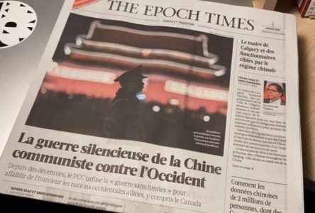 The Epoch Times: un Drummondvillois écrit au député Champoux