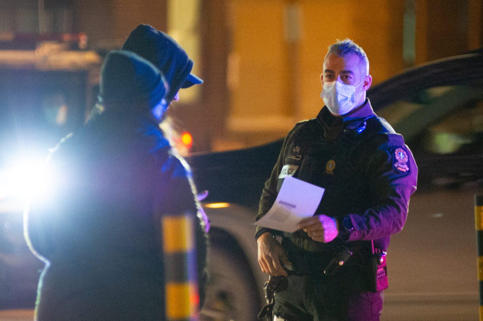 Premier couvre-feu: la SQ a donné plus de 150 constats d'infractions