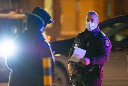 La Sûreté du Québec distribue 150 constats d'infractions