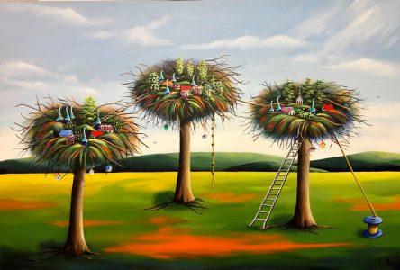 Le talent de Francine Laplante salué au Mondial Art Academia