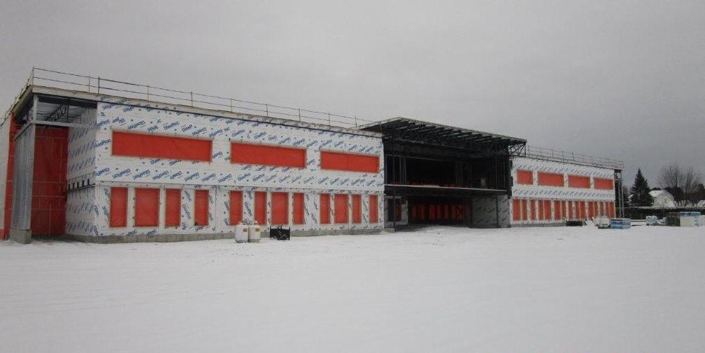 La construction de l'école D avance rondement