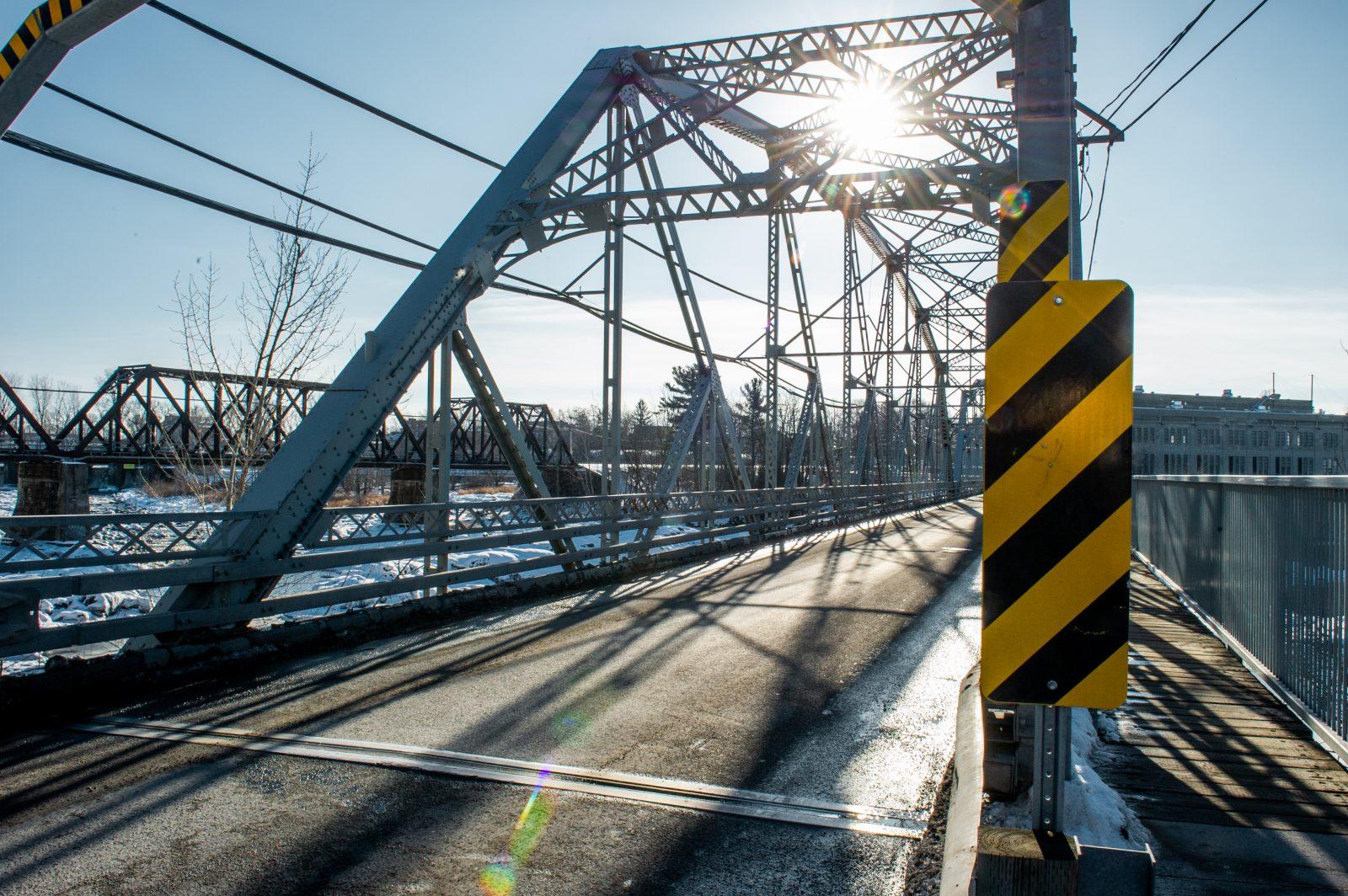Le pont Curé-Marchand exclusif aux piétons les fins de semaine