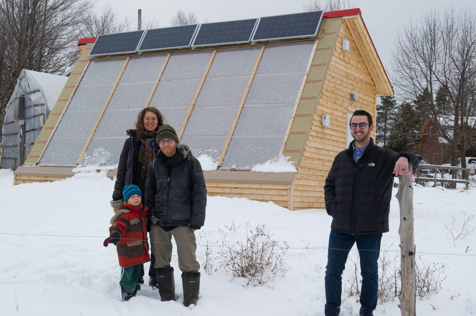 Une serre qui défie l'hiver québécois