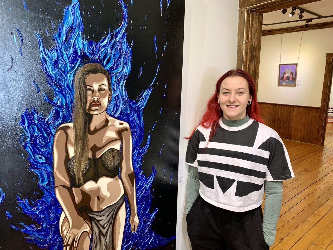 Victime d'agressions sexuelles, Audrey Guertin reprend le contrôle de sa vie par la peinture
