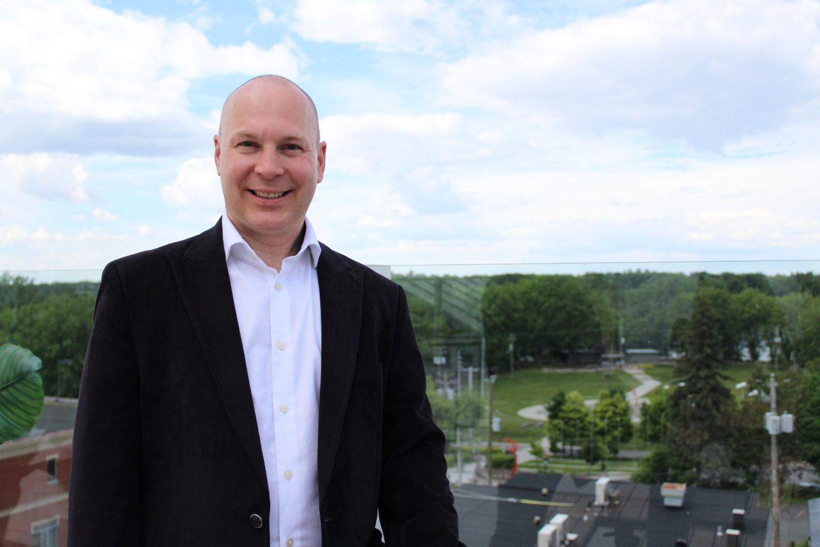 François Choquette se porte à nouveau candidat pour le NPD