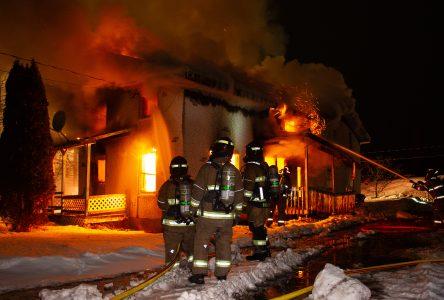 Incendie à Notre-Dame-du-Bon-Conseil (mise à jour)