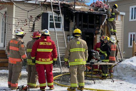 Une famille victime d'un deuxième incendie en quelques années