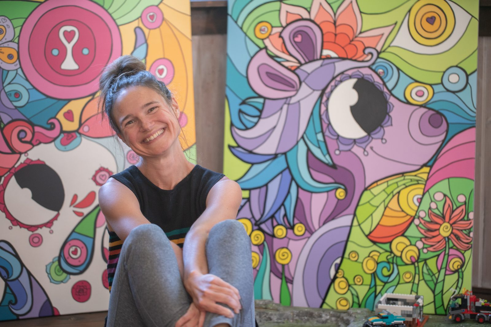Le style coloré et pimpant de Nancy Fournier