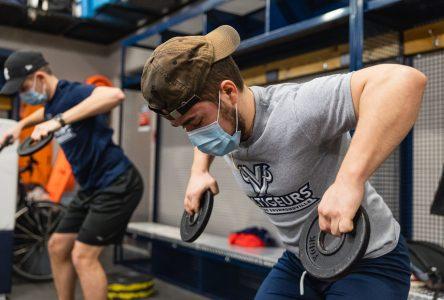 Un retour à l'entraînement pour les étudiants-athlètes du Cégep de Drummondville